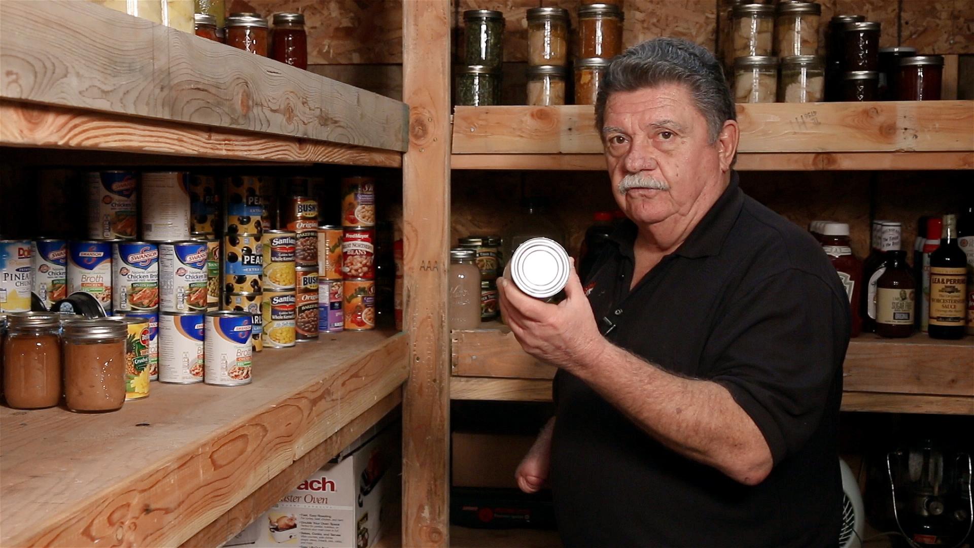 John Pantry holding can